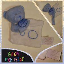 Doudou Ourson bleu - Doudou et Compagnie - 15cm - Ref C5