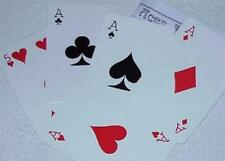 Aces Galore - Jumbo size-quick change giant poker hand -Clearance Tmgs