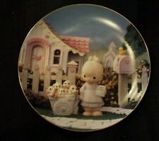 Precious Moments God Loveth A Cheerful Giver plate by Enesco ♡ no problems