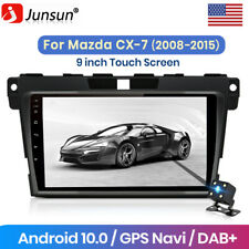 "9.0""Android 10.0 Car Radio Gps Navigation For Mazda Cx-7 2008-2015 Rds Dsp Usb"
