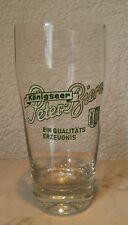 Birra vecchio bicchiere di birra TULIPANO SMALTO VEB königseer Peter Beers OLD BEER GLASS