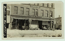 RARE Old Photo ca 1900 Durland Hardware STORE - Watkins NY  - Near Glen