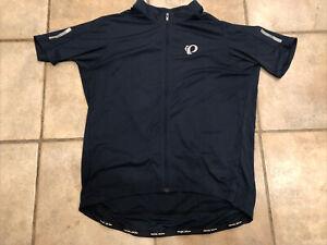 Pearl Izumi Men's Navy Blue Select Pursuit Full Zip Cycling Jersey XXL 2XL