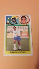 Cromo Coloca Pinilla Album Liga 93 94 Tenerife Pegatina No Carton Sin Pegar