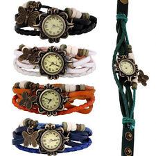 New Wholesale Lot of 5pcs Womens Girls Butterfly Bracelet Wrist Watches Ornate