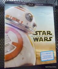 STAR WARS THE FORCE AWAKENS WALMART LIMITED EDITION BLU-RAY+DVD+DIGITAL HD BB-8