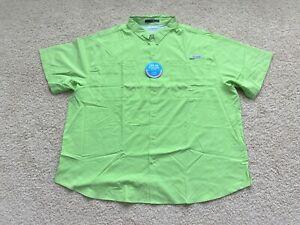 NEW Columbia PFG Tamiami II Short Sleeve Button Shirt men 5XL