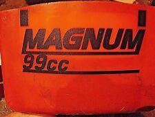 "STIHL MS660 066 CUSTOM ""MAGNUM 99cc"" LETTERING CHAINSAW ID STICKER (FOR 56MM PC)"