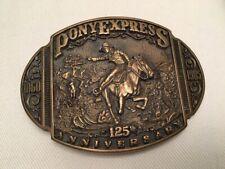 Buckle Pony Express Gedenk Sammlerstück
