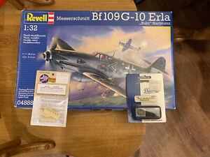 1/32 Revell #04888 Messerschmitt Bf109G-10 Erla With Extras