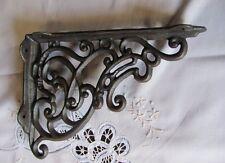 1 Paar Regalstützen Regalwinkel Wandwinkel sehr Stabil Winkel Antik Stil Eisen