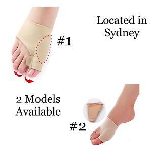 1 Pair Toe Bunion Splint Straightener Corrector Hallux Valgus Foot Size Small