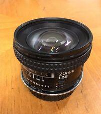 Nikon NIKKOR 20mm f/2.8 AF Lens
