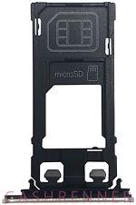 SD SIM Halter S Speicher Karten Schlitten Memory Card Tray Holder Sony Xperia XZ