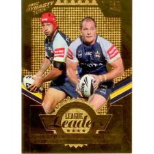2012 SELECT NRL DYNASTY LEAGUE LEADERS GOLD LLG9 Thurston/Scott Cowboys 112/150