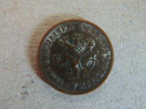 1922 REPUBLIKA CESKOSLOVENSKA 10 HALERU COIN