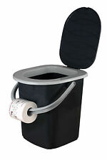 72955  BranQ CAMPINGTOILETTE EIMER TOILETTE 22 L Toiletteneimer hochwertig WC