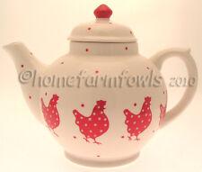 NEW LITTLE RED HEN TEA POT,CHICKEN/POULTRY/ KITCHEN/CHICKEN GIFTS