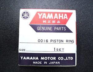 GENUINE YAMAHA PISTON RING SET DT1 214-11601-0200