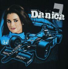 Danica Patrick #7 Indy Car 2007 Honda Andretti Autosport T Black Shirt XL NWOT