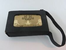 Elgin American Vintage Carry All Purse Compact Lipstick Powder Monogramed #1461