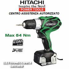 TRAPANO AVVITATORE A BATTERIA LITIO DS14DSAL Ah 2,0 VOLT 14,4 Nm 54 HITACHI
