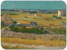 Vincent Van Gogh The Harvest Painting Mouse Mat. High Quality Art Mouse Pad