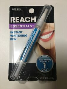 Reach Essentials Instant Teeth Dazzling Whitening Pen Stain Remover Fast Ship!!