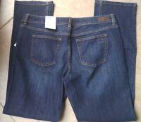 NWT LIZ Claiborne Jeans City Fit Straight Size 14