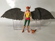"DC Direct Hawkgirl 6"" Figure Deluxe 2 Pack Hawkman 2000 Hawk Girl Extra Head"