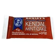 2 x Chocolate Romney's Kendal Mint Cake 40g Energy Food Survival Camping Hiking