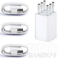 3x USB Ladekabel Kabel Ladegerät Netzteil für die Reihe 7, 6, 5, 6S, 5S, SE, AIR
