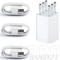 3xUSB Ladekabel Kabel Ladegerät Netzteil für Original iPhone 7 iPhone 6 iPhone 5