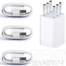 3x USB Ladekabel Ladegerät Netzteil für Original iPhone 5 iPhone 6S 6 iPhone 7