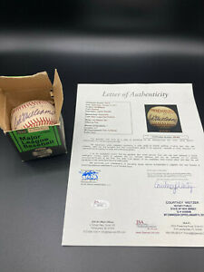 Ted Williams Signed baseball, Ted Williams Sears 1601,Letter of Authenticity