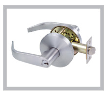 DOOR LOCK LEVER privacy LOCKWOOD COMMERCIAL FIRE RATED SET BRAND NEW RRP: $190+