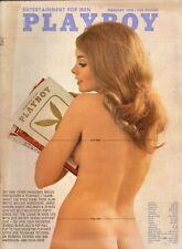 Vintage Playboy Magazine February 1970