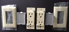Mobile Home Receptacle Self-Contained Bone w/ Snap-On Plates  (2 pack)