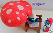 lot schtroumpfs champignon smurf puffo Pitufo puffi schtroumpfette rarissime
