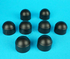 Pack of 8 Wheel Nut Covers for 19mm Head - Bateson & old Ifor Williams Trailers