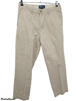 Polo By Ralph Lauren Mens Chino Classic Fit Khaki Pants Size 34x30
