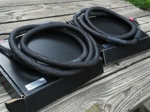 Silnote Audio Poseidon 8' Speaker Cable Spade Connectors Used