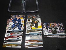 2017-18 SP AUTHENTIC UPPER DECK UPDATE BASE SET (9)