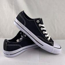 Airwalk Mens Legacee Sneakers Black White Skateboarding Canvas 169346 Size 7M