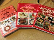 3 QUCK & EASY COOKBOOKS Tofu and Japanese Snacks Light Meals / Yukiko Moriyama
