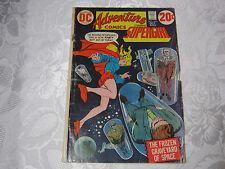 ADVENTURE COMICS SUPERGIRL VINTAGE 1970'S DC COMIC 424 OCT   T*
