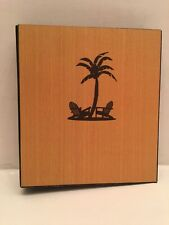 2009 Target Brand Travel Photo Album Palm Tree