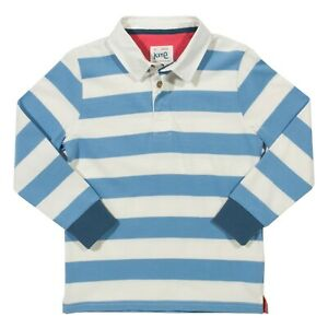 Beautiful Rugby style polo Shirt in 100% Organic Cotton. Quality UK stock.