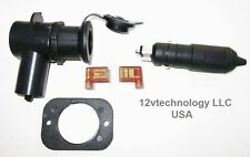 QualityTight Installation Lighter Accessory Socket w/ Locking Plug Marine 12V