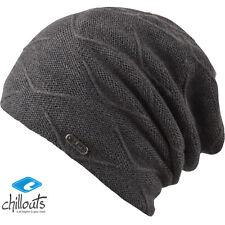 CHILLOUTS Courtney bonnet femmes Bonnet d'HIVER Chauffant Bonnet tricoté gris